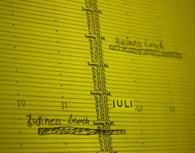 Printdesign Poster Kalender Detail