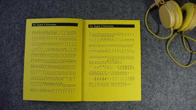 Typografie Design Print Font