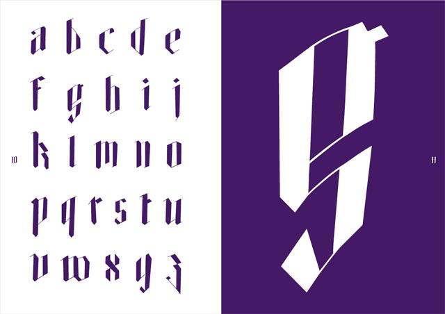 Typografie Font Printdesign
