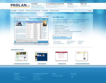 Webdesign Grafikdesign Prolan.de