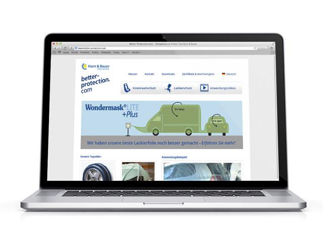 Webdesign Relaunch Better-protection.de