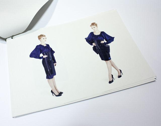 Printdesign Katalog LOTTA Fashionweek 2014