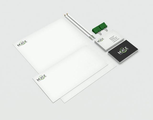 Logo-Design Branding MATE