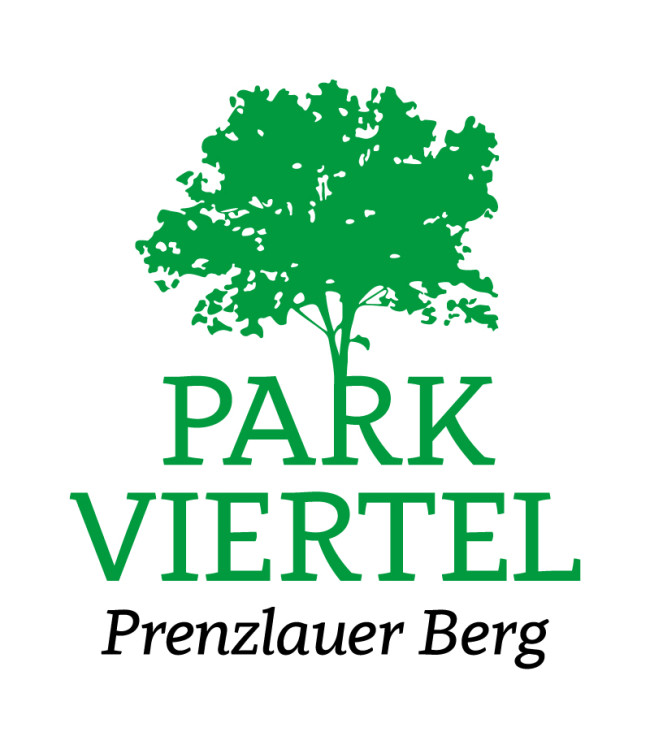 Corporate Design Parkviertel Prenzlauerberg Logo