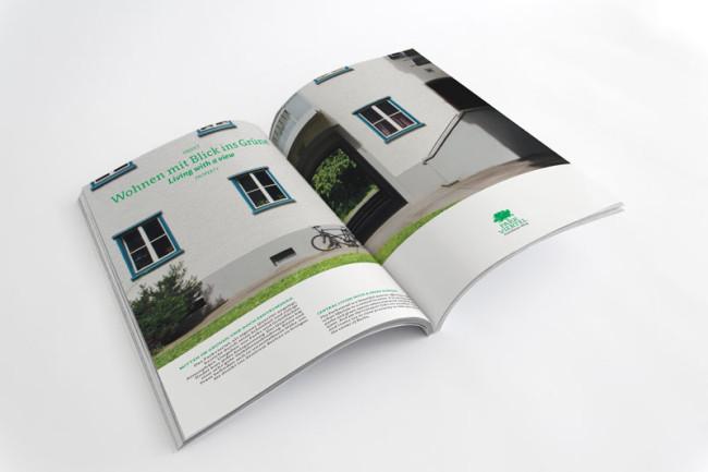 Corporate Design Parkviertel Prenzlauerberg Broschüren Printdesign