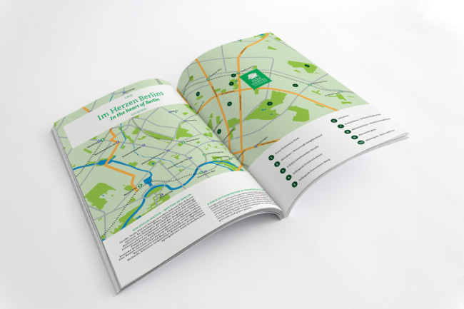 Corporate Design Parkviertel Prenzlauerberg Broschüren Detail Printdesign