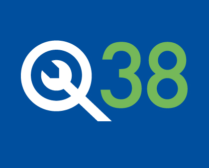 Corporate Design Quartier 38 Logo