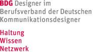 Mitglied im BDG – Berufsverband der Deutschen Kommunikationsdesigner