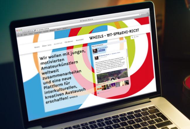 Corporate Design Mit-Sprache-Recht Website Webdesign