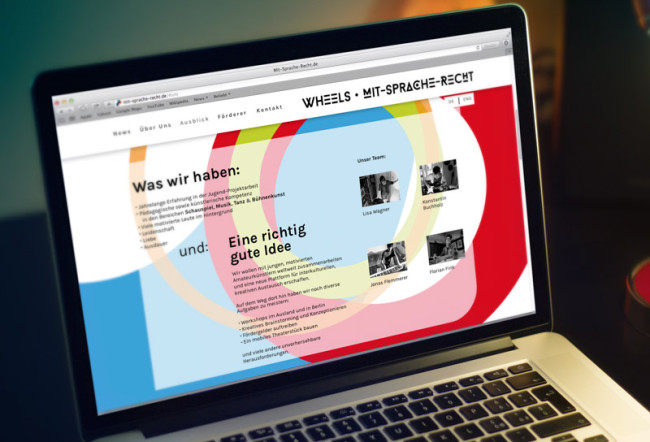 Corporate Design Mit-Sprache-Recht Website Webdesign