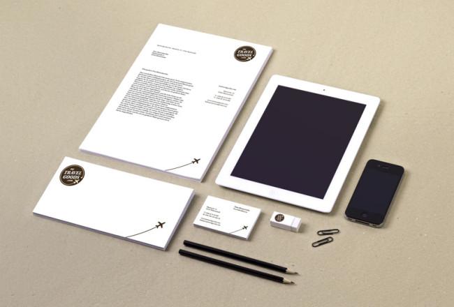 Corporate Design MyTravelGoods Übersicht