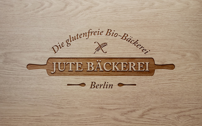 Corporate Design Jute Bäckerei Logo Design