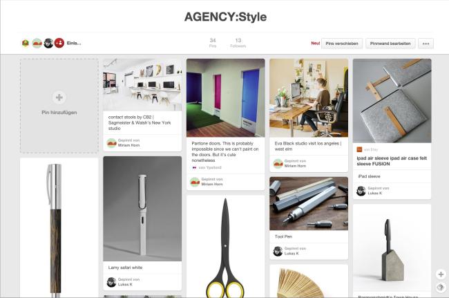 SocialMediaReihe-FORMLOS-Pinterest-Agency