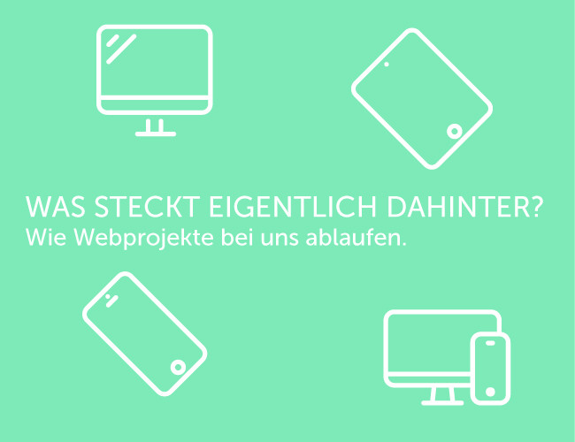 Webpojekte Webdesign Ablauf