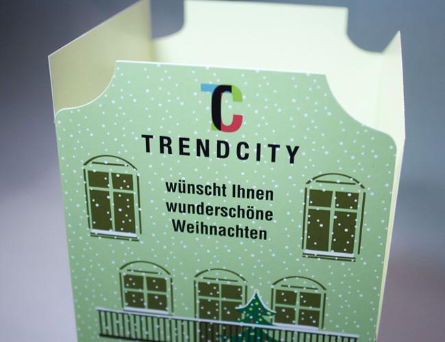 Kreative Weihnachtskarten