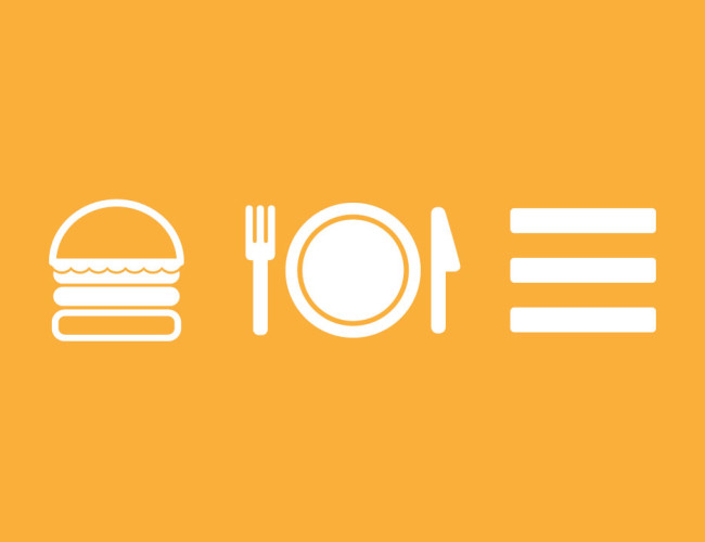 Mobile Webdesign Hamburger Icon