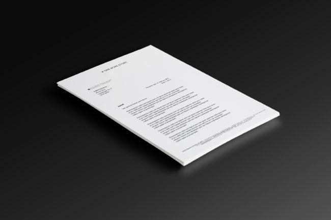 Briefkopf bzw. Rechnung