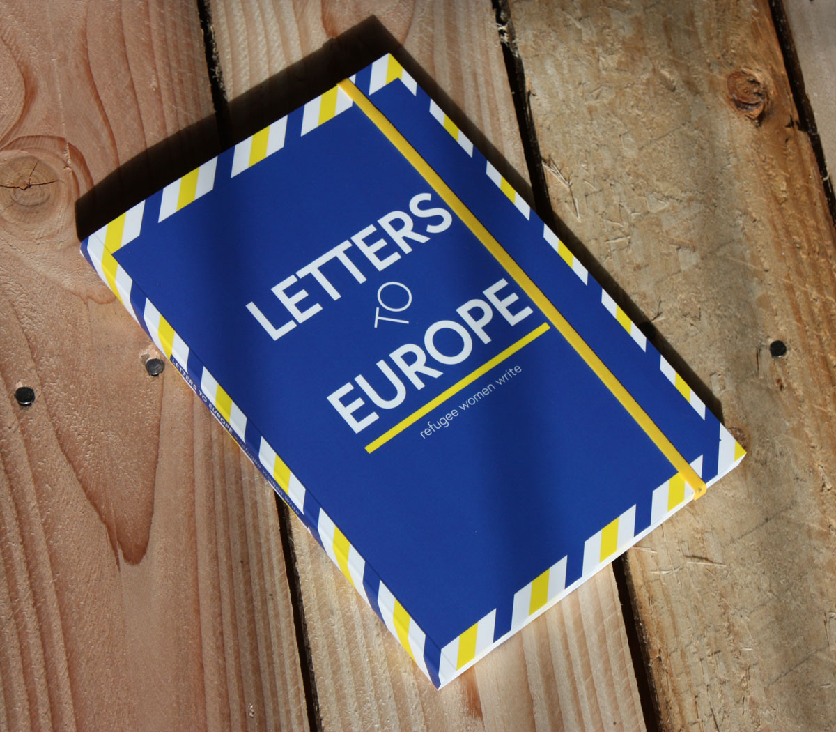 Letters to Europe –Cover Gestaltung