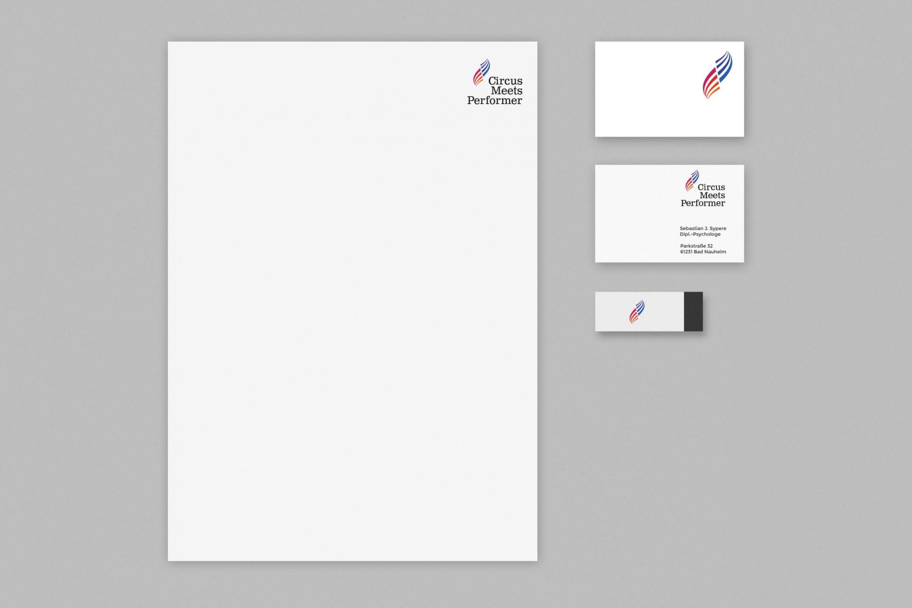 1Corporate-Identity-Künstlerbranche-Briefpapier-Visitenkarte