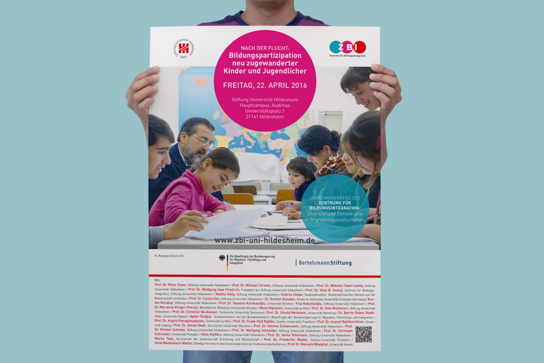 Posterdesign-Gestaltung-Konferenz-Stiftung-Uni-Hildesheim-Detail
