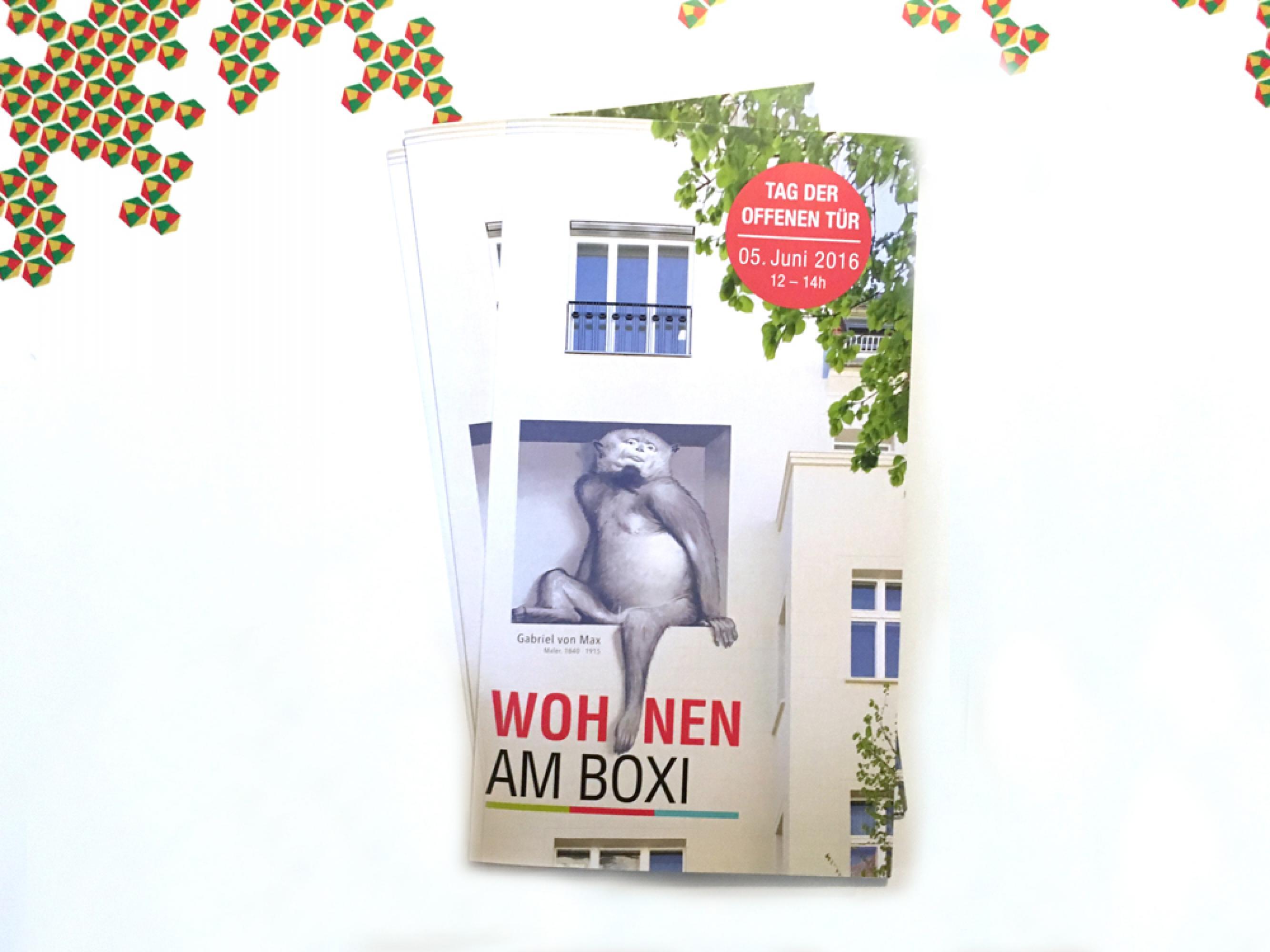 Vorschau-Bild: Am Boxi – Webseite und Faltblatt für eine Immobilie