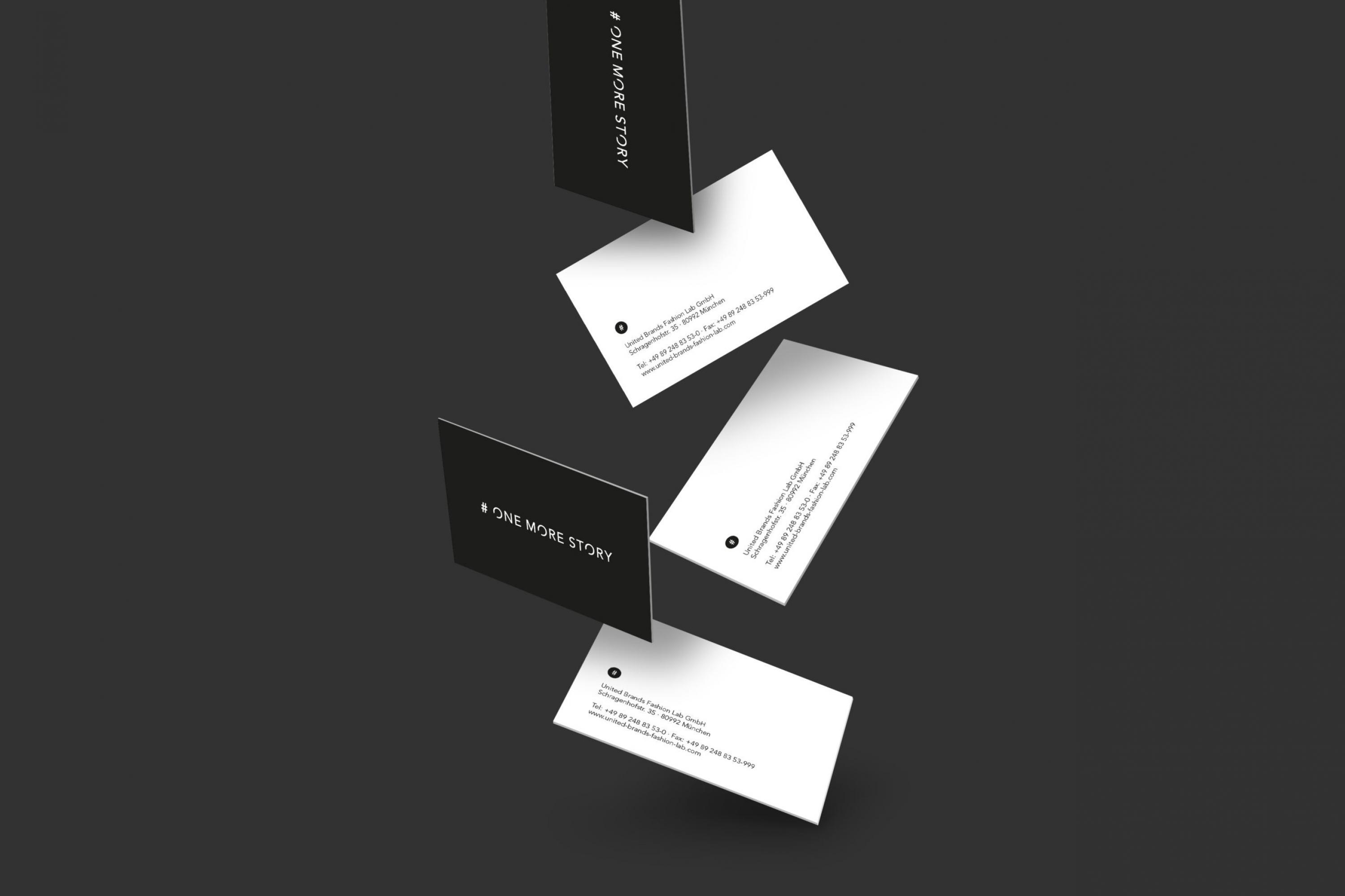 Branding-OneMoreStory-Fashion-Label-Logo-Design-Visitenkarte