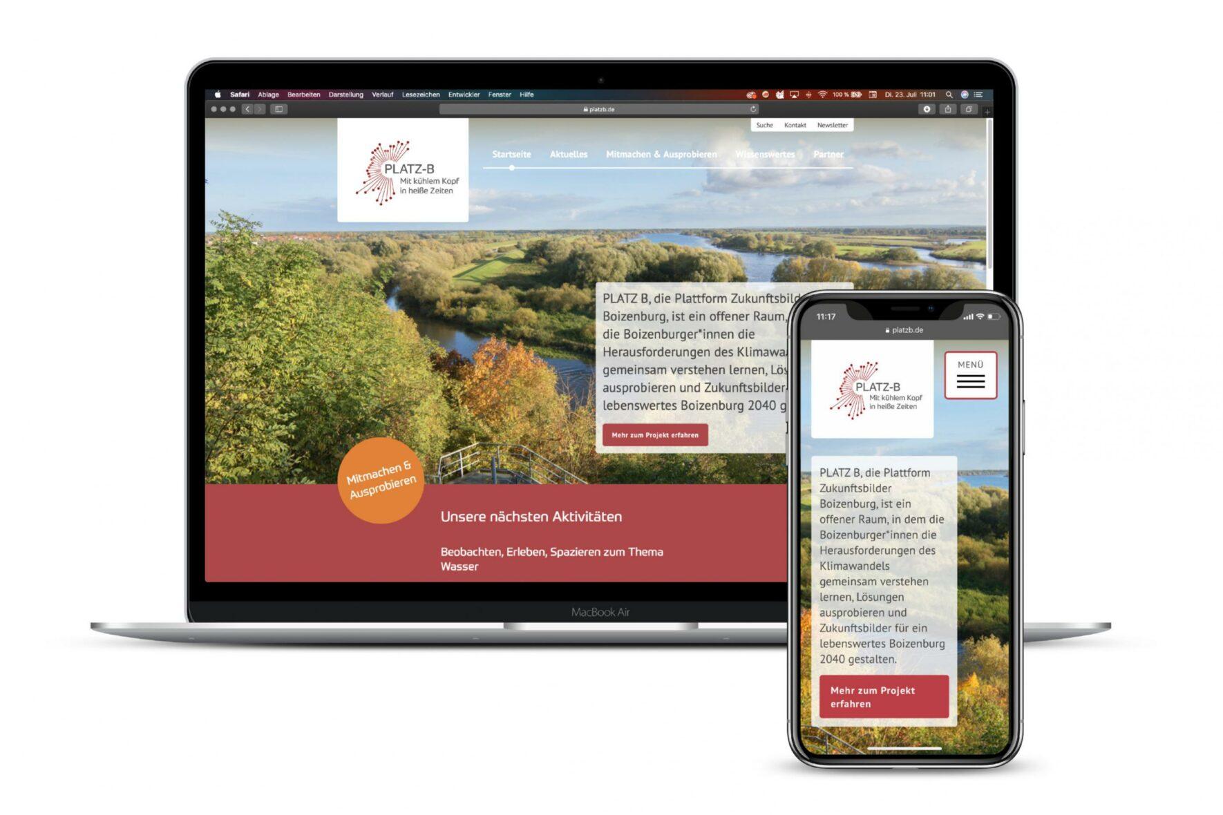 Vorschau-Bild: Webseiten für das Forschungsprojekt GoingVis