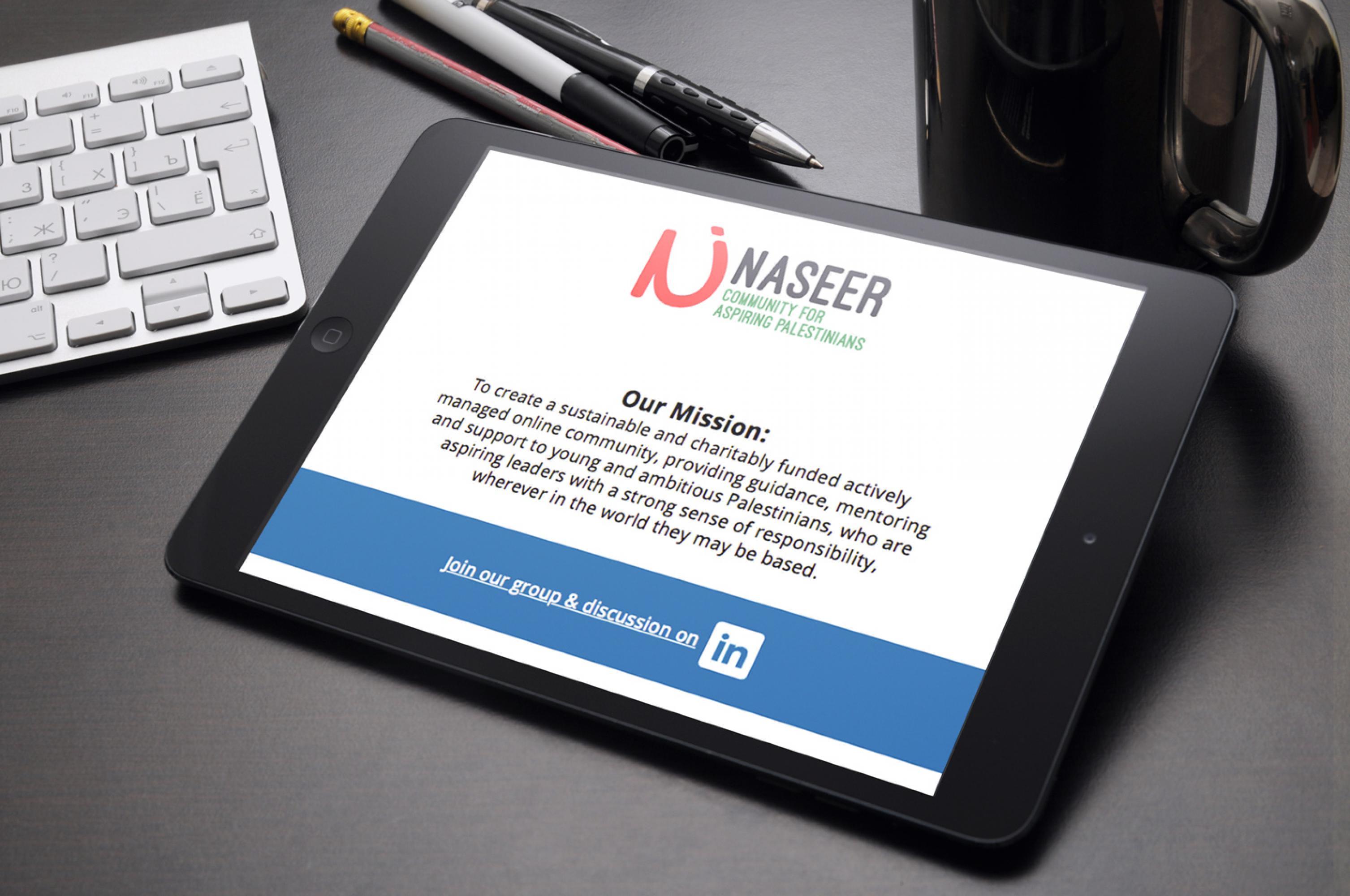 Naseer-on-iPad