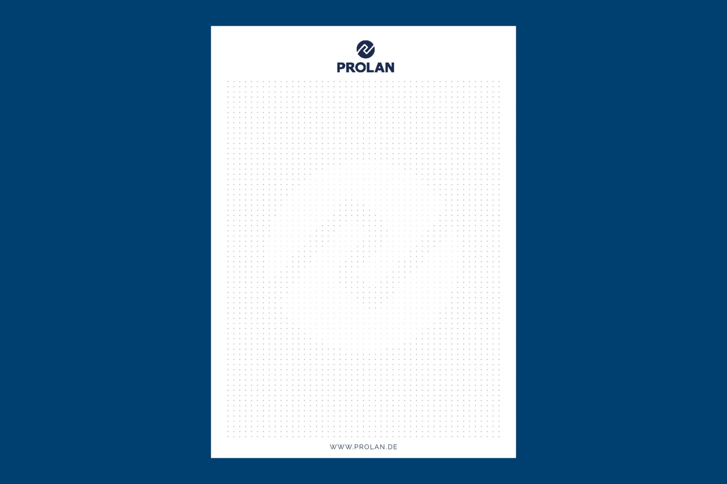 Prolan_Notizblock_A5-Punkteraster-Design Kopie
