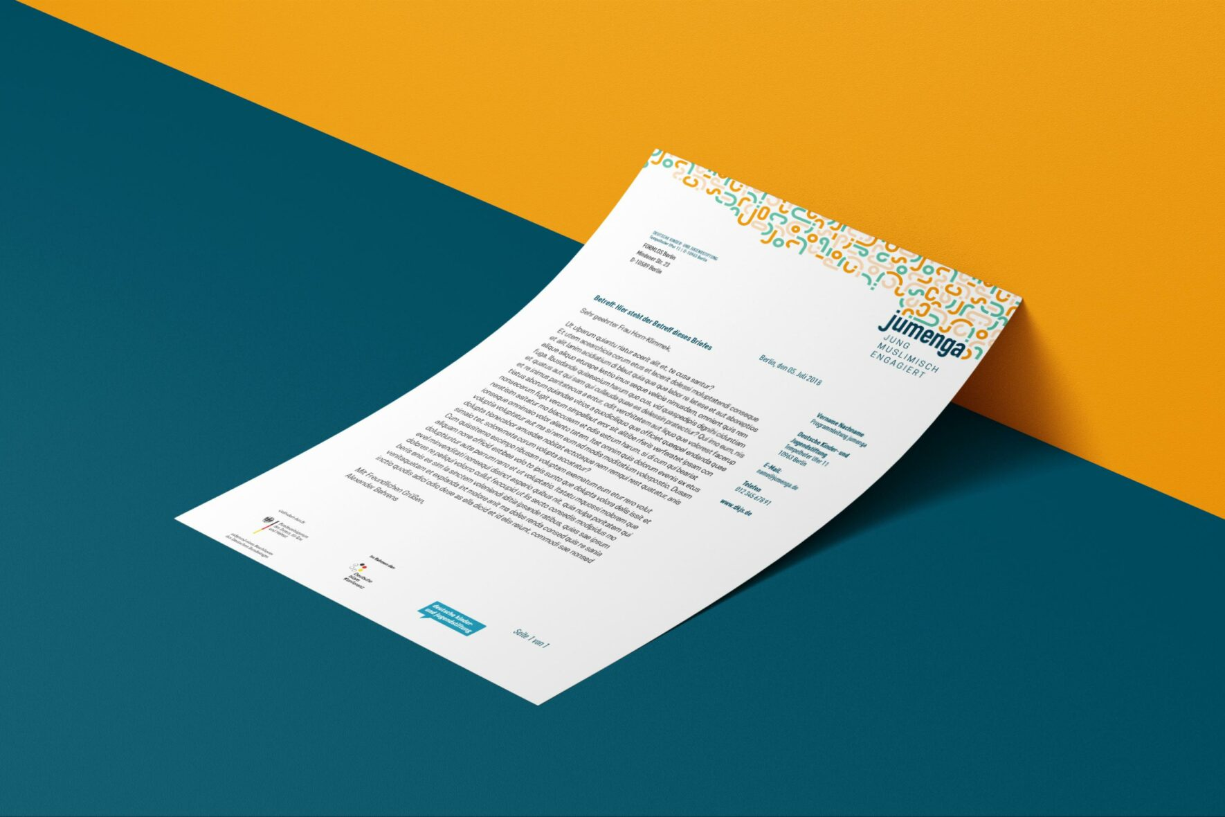 jumenga-Briefpapier-Corporate-Design-FORMLOS-Berlin-Print