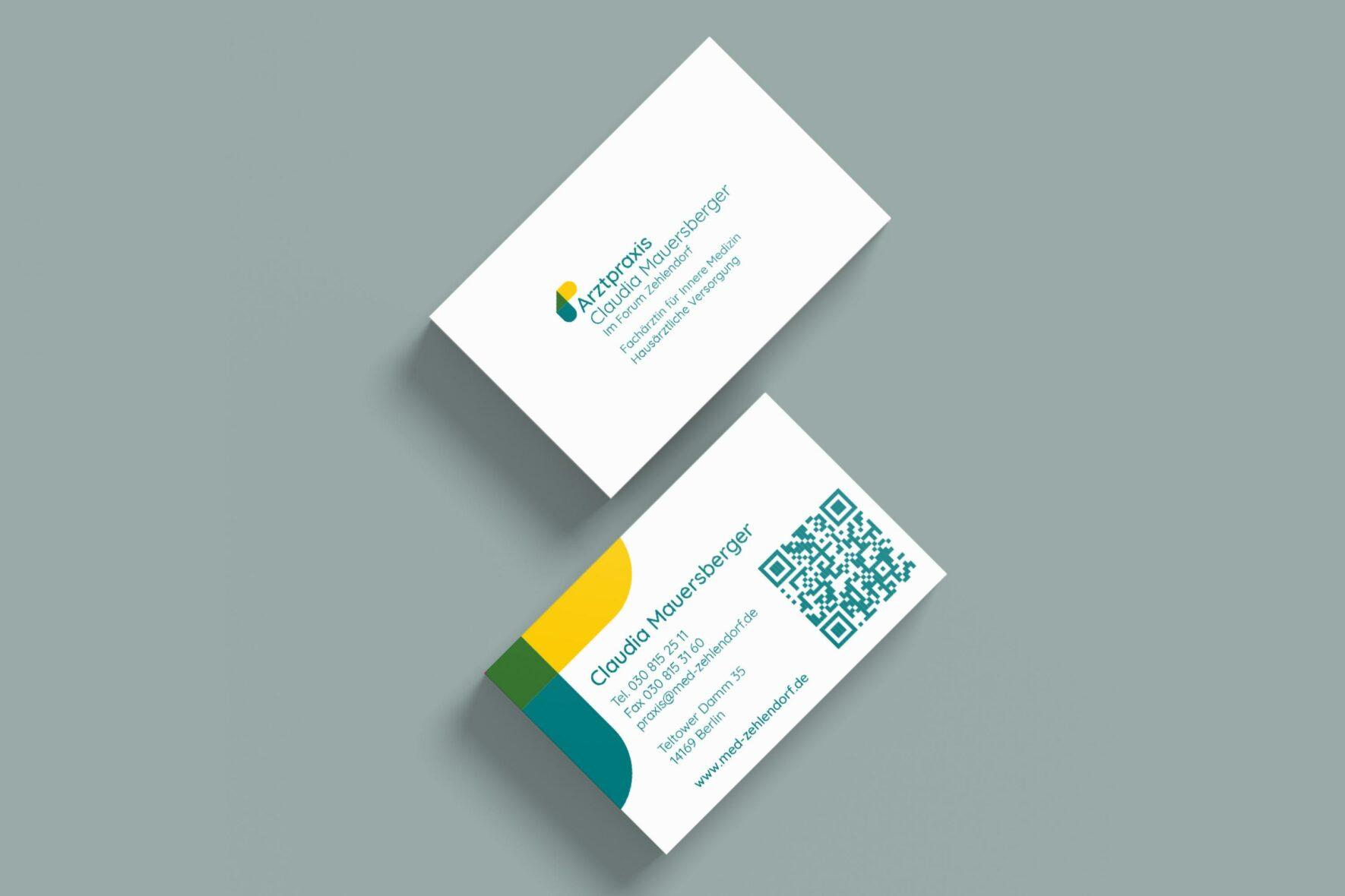 Praxis-Claudia-Mauersberger-Corporate-Design-Print-Geschaeftsausstattung-Visitenkarten-FORMLOS-Berlin-einfach