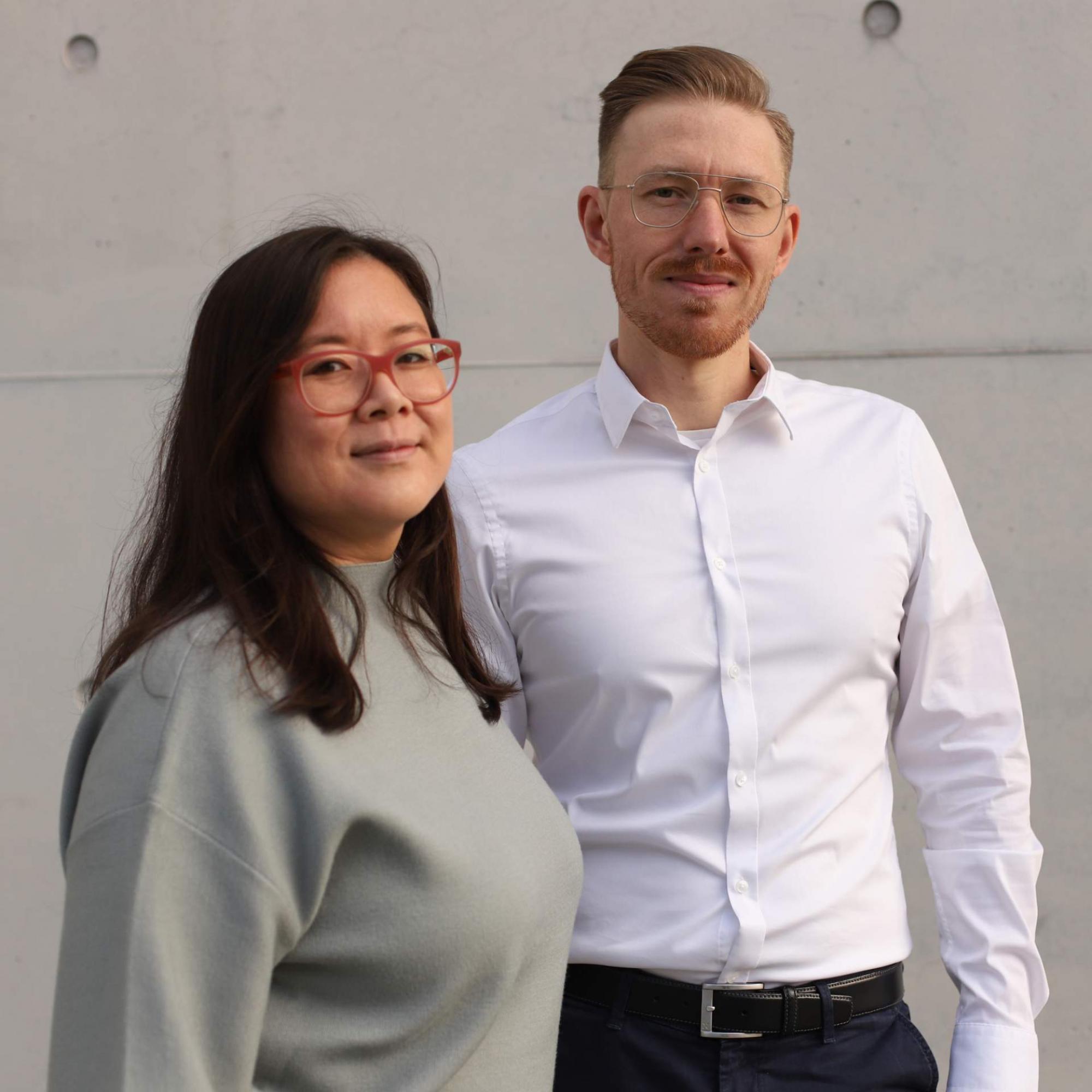 Portraitfoto Yuan Wei & Daniel Backhaus