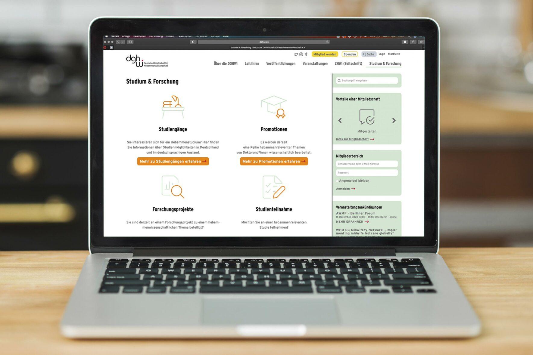DGHWi-Deutsche Gesellschaft-fuer-Hebammenwissenschaft-Webdesign-Website-FORMLOS-Berlin-desktop
