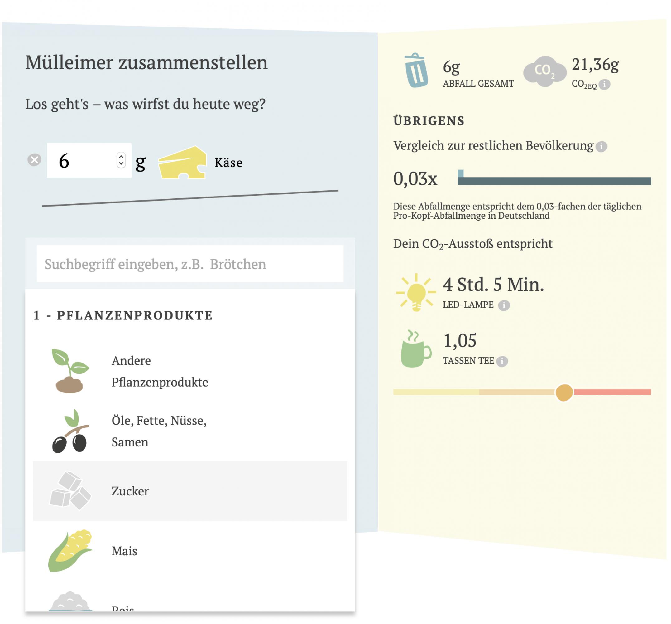 FoodLabHome-Klima-rechner-Website-FORMLOS-Berlin-Auswertung-vergleich