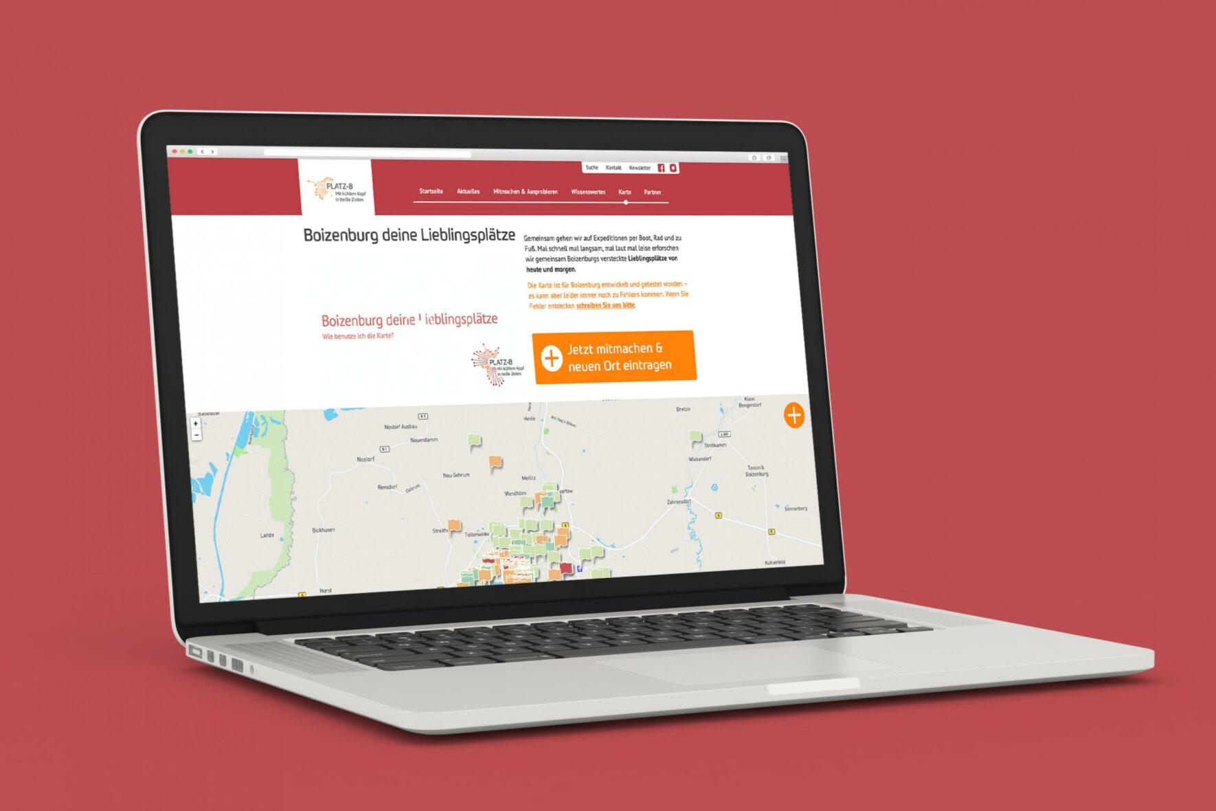 Vorschau-Bild: Interaktive Karte für das Forschungsprojekt GoingVis