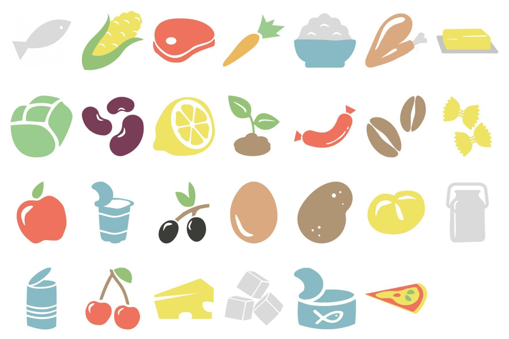 Klimarechner-Icons-FoodLabHome-Food-waste-tracker-FORMLOS-Berlin-Icons-Gestaltung