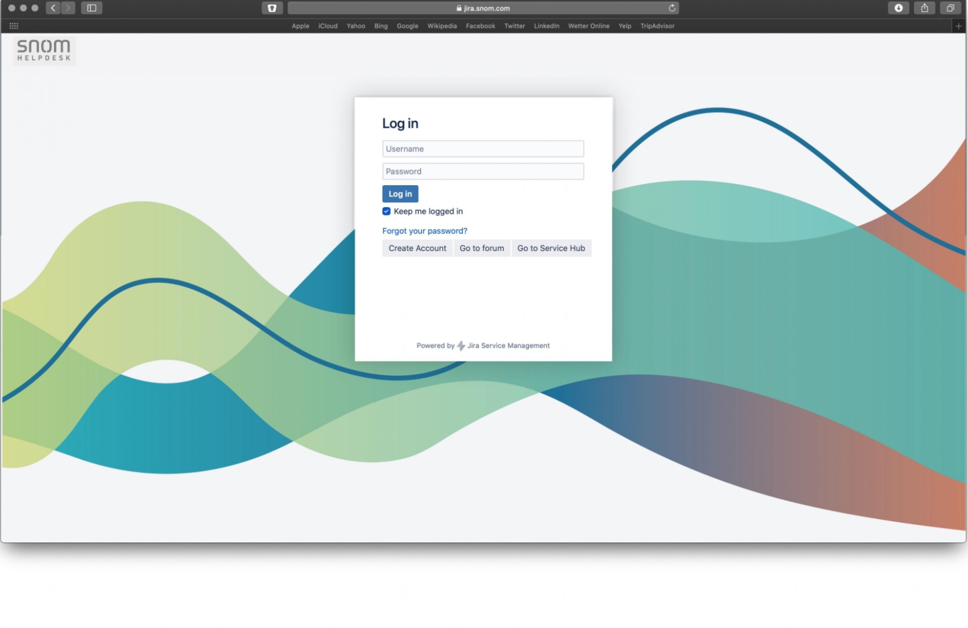 Rebranding-Login-Webseite